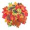 Luxbon circa 100 Autunno artificiale in legno d'acero, autunno, multicolore, motivo: fogli...
