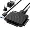"""FIDECO USB 3.0 a IDE e SATA Converter Hard Drive Adattatore per 2,5"""" e 3,5""""IDE/SATA HDD SS..."""