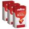 Lavazza Caffè Qualità Rossa, Macinato, Adatto anche a French Press e Caffettiera Moka, 3 C...
