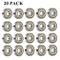 608 ZZ Cuscinetti a sfere, 608zz Metallo Double Shielded Miniature Groove Cuscinetti a sfe...