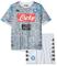 SSC Napoli Kit Gara Third 2018/2019 Bimbo, Grigio, 6 anni