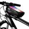 Borsa Telaio Bici Porta Cellulare, Impermeabile Manubrio per Borse Biciclette Touch Screen...