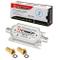 Set di amplificatore di segnale SAT di HB-DIGITAL: amplificatore in linea da 20 dB, amplif...
