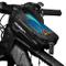 Nifogo Borsa Telaio Bici Borsa Borsa Bicicletta Manubrio Impermeabile,Borsa Telaio con For...