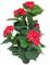 Yanka-style JWS2521 - Idrangea/ortensia artificiale con vaso, altezza ca. 60 cm, pianta ar...