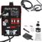 Displaytop 220V Rosso Saldatore MIG 130 Welder Filo Continuo Senza Gas Saldatrice con Masc...