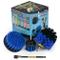 Prodotti per la pulizia - Drill Brush - Barca Accessori - Spin Marine Brush Set - Kayak -...