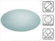 Festool 203306–STF D150P180gr abrasive net, grigio acciaio, set da 50pezzi
