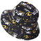 Jazmiu - Cappellino da pescatore unisex stampato Funky Fruit, reversibile e ripiegabile, p...