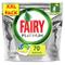 Fairy Platinum 70 Pastiglie per Lavastoviglie, Detersivo in Confezione XXL da 70 Caps, Lim...
