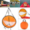 lzndeal Kayak Barca Wind Sail Canoa SUP Paddle Board Vela con Clear Window Fishing Rowing...