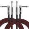 "Cavo per Chitarra 3 Metri, OTraki 2 Pezzi Cavi Jack per strumenti Durevole 1/4"" (6.3mm) TS..."
