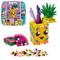 LEGO- Dots Portapenne Decora i Pannelli dell'Ananas e della Piccola Scatola Anguria ed Esp...