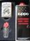 Zippo - Accendino con segno zodiacale del cancro, set regalo
