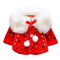 Brightup - Giacca - bambina, Rosso, Small