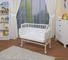 WALDIN Baby,Lettino culla,altezza regolabile,paracolpi e materasso,in 16 varianti,Superfic...