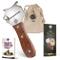 5 ☆ Rosewood Taglia Tartufo, Chocolate Rasoio & Affettatartufi con tessuto bag + ebook di...