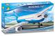COBI 600 PCS Boeing/ 26600/787 Dreamliner Costruzioni Piccole Gioco Bambino 370, Colore Bi...