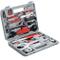 TecTake 403284 Kit di Attrezzi per la Riparazione di Bicicletta Bici, 50 Pezzi, Valigetta...