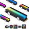 EZDIY-FAB 5V ARGB SATA NVMe NGFF Dissipatore SSD Dissipatore di Calore M.2 per SSD 2280 M....
