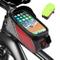 Mitening Borsa Telaio Bici, Porta Cellulare Bici, Impermeabile Borsa da Manubrio per Bicic...