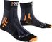X-Socks Trail Run Energy, Calze Uomo, Nero/Antracite, 35/38