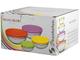 Pasabahce Set 8Pz Frigo Vetro Tondo Coloraticontenitori Cucina Barattoli