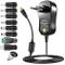 CA / CC Adattatore Di Alimentazione Universale, PChero 24W Alimentatore Switching Da con 8...