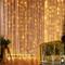 YINUO LIGHT Tenda Luci LED, Tenda Luminosa 300 LED 3mx3m, Luci Stringa Cascata Impermeabil...