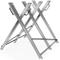Monzana Cavalletto taglialegna Metallo zincato 83x81x88cm Capacità 150kg Peso 7kg taglia l...