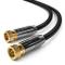 deleyCON 1m SAT Cavo Antenna Cavo Satellitare HD Coassiale per DVB-S/S2 - HDTV 4K Ultra HD...