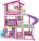 Barbie Casa dei Sogni per Bambole con 8 Stanze, Garage, Scivolo, Piscina, Ascensore e Acce...