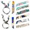 MOOKLIN ROAM Foulard Donna 10 pezzi Sciarpa di Seta piccola sciarpa skinny sciarpa Multifu...