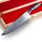 Stallone Damasco Coltello Damasco Wave Big Chef's Knife - Coltello con lama di 22cm in acc...