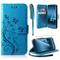 ivencase Cover Samsung Galaxy A40, Retro Design Flip Caso in PU Pelle Premium Portafoglio...