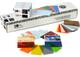 Zebra Premier PVC Card, 30 Mil Low Coercivity Mag. Stripe (5 Packs x 100) Biglietto da Vis...