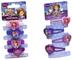 Joy Toy Disney Sofia 115016+115055 - Set 4 Elastici e 4 Mollettine per i Capelli