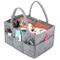 UMI. by Amazon - Baby Diaper Caddy, Portaoggetti con Scomparti Pannolino Organizzatore, Po...