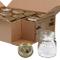 Bormioli, set di 12 barattoli per conserve, Quattro Stagioni, capacità 150 ml, diametro 6,...