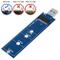 EasyULT M.2 SSD a USB 3.0 Adattatore NGFF SATA Basato B/B+M SuperSpeed Adattatore 5Gbps Su...