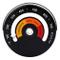 Elcoho - Termometro magnetico per stufa, bruciatore a legna, temperatura superiore, per st...