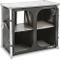 BRUNNER Azabache Daily CT mobiletto da cucina, telo del mobiletto in PVC, grigio