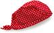 Playshoes UV-Schutz Kopftuch Punkte Turbante, Rosso (Rot(8 Rot), 51- DE Bambini