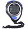 Cronometro digitale con display a tre file di cronometro, cronometro e cronometro con memo...