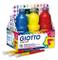Giotto F534600 - Tempera, Assortimento, 6 Flaconi da 1L