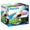 Philips CD-R 80MIN - Confezione da 10