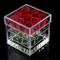 Rose flower pot box, contenitore di regalo del vaso del garofano fatto a mano del supporto...