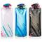 Bottiglia di acqua pieghevole Set di 3, bottiglie MAXIN flessibile pieghevole riutilizzabi...
