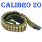 globe fishing Cartucciera Cartuccera Caccia Cordura Verde 30 Celle Calibro 20 Cordura Cint...