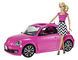 Barbie BJP37 Set Maggiolone Bambola, Volkswagen The Beetle